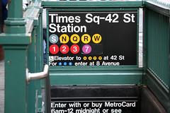 Times Square Subway Station (New York Habitat) Tags: nyc subway timessquare