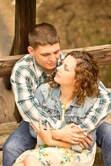 She Felt Safe In His Arms (Christina Ann VanMeter) Tags: love engagement couple
