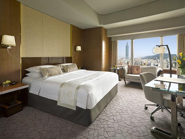 台北の高級ホテル:シャングリ・ラ ファー イースタン プラザ ホテル 台北