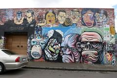 Faces of Fitzroy Mural (wiredforlego) Tags: streetart graffiti mural au fitzroy australia melbourne mel urbanart