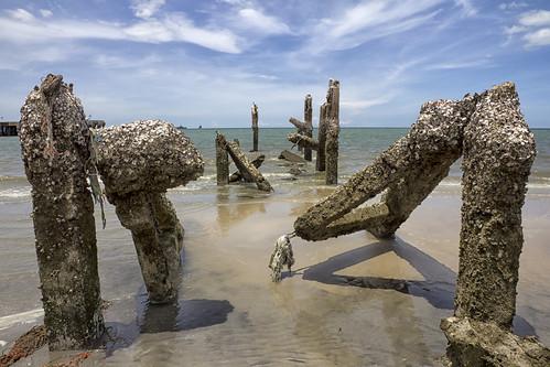Broken pier, Hua Hin