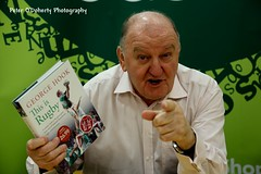 Are you hooked? (Peter O'Doherty (Dublin)) Tags: ireland bw irish sports canon photography book photographer shot shots rugby picture pic snap photograph launch dslr booklaunch easons dotsy georgehook peterodoherty