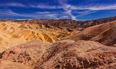 Zabriskie Point - Death Valley National Park (nclint) Tags: travel canon desert califorina roadtripping deathvalleynationalpark