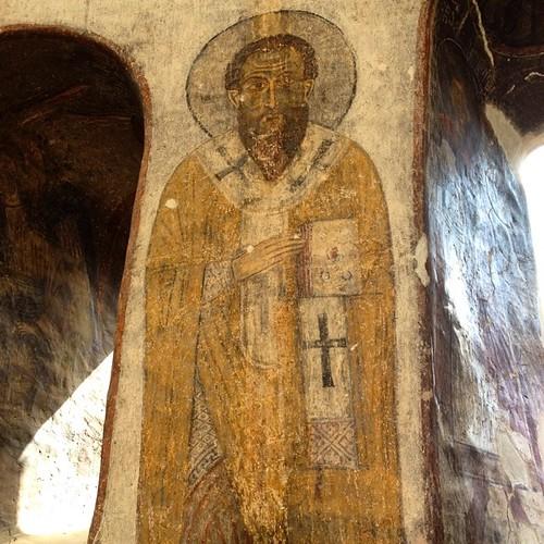 Gli stupendi #affreschi del #Monastero di #Kobayr. #Original #Armenia #Viaggi @viaggioarmenia