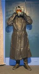 Gummischutzkleidung (Nordsee2011) Tags: gasmask raincoat gasmaske regenmantel regenhose schutzmaske rubbercoat gummimante