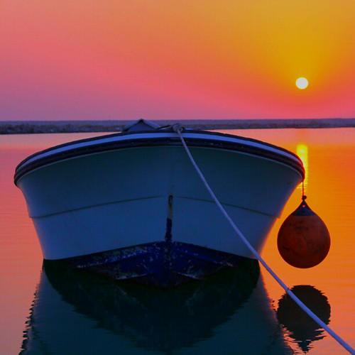 Sunset at Abusobh beach