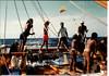 Hokule'a sailing to Tahiti and back on 1995. (hawaiiancanoes) Tags: fiji outrigger hokulea drua tikopia tipairua hawaiianvoyagingcanoes tamamoana scalemodelcanoes polynesianvoyagingsocietey