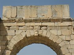 Triumphal Arch to honour Emperor Caracalla (Bootnecks) Tags: arch triumphalarch emperor honour volubilis triumphal caracalla romanarchitecture