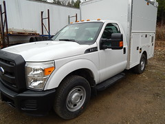 F350 6.2L V8 with CNG Prep Engine Package offered by Ford