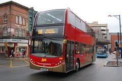 JPT AD Enviro 400 651.SN59AWV - Shudehill, Manchester (dwb transport photos) Tags: bus manchester alexander dennis enviro decker jpt 651 shudehill sn59awv