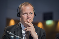 Ketil Solvik-Olsen at the Closed Ministerial Session