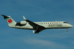 C-FWJF (Air Canada express - Air Georgian) (Steelhead 2010) Tags: yyz crj canadair aircanada cfwjf creg crj100 airgeorgian aircanadaexpress
