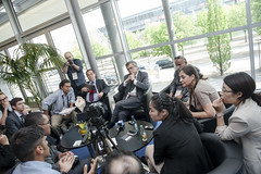 Journalists question José Viegas
