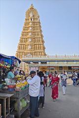 Le temple de Chamundi (Mysore, Inde) (dalbera) Tags: india mysore durga inde chamundi dalbera démonbuffle mahishâsura