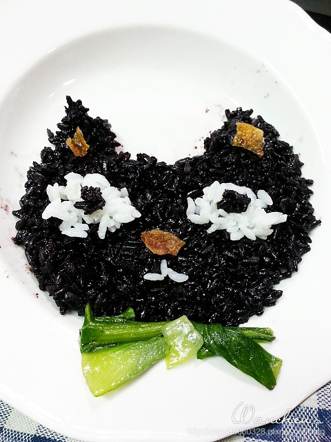 20140619黑米 雙色飯糰_211420