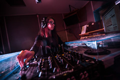 Sheyla Marimon (fiu) Tags: station radio student general miami doug garland radiate manager fm fiu sheyla marimon
