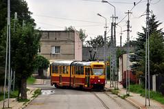 Konstal 803N #12 Lutomiersk Tramwaje Podmiejskie (3x105Na) Tags: tram 12 43 tramwaj konstal lutomiersk 803n tramwajepodmiejskie