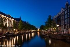 Amsterdam by night. (luisephoto) Tags: amsterdam europa holanda pasesbajos msterdam holandaseptentrional
