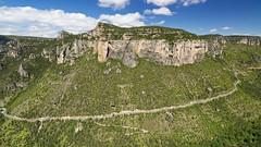 Gorges de la Jonte (falaises du Causse Mejean) (ijmd) Tags: france landscape paysage gorgesdelajonte peyreleau lerozier caussenoir