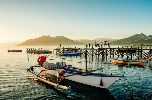 Early Morning in Poto Tano, Sumbawa