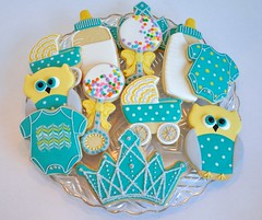 Baby Shower Cookie Collection