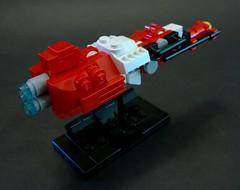 "Sobani Frigate ""Horkos"" (Rphilo004) Tags: ship lego space scifi spaceship fi homeworld sci spacecraft moc microspace microscale"
