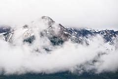 Bow Range in the Clouds (MichellePhotos2) Tags: park canada mountains clouds nikon cloudy overcast alberta banff rockymountains peaks banffnationalpark candianrockies bowrange d800e nikond800e