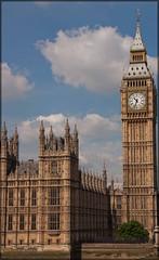 Westminster - London - Houses Of Parliament & Big Ben (elevationair ) Tags: uk london housesofparliament bigben clocktower unitedkingdon