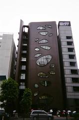 Aoyama Dori,  Shibuya-ku (slo:motion) Tags: windows japan architecture tokyo shibuya balconies disposable shibuyaku june2014