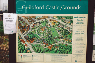 Garden of Guildford Castle