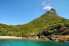 End View of Mt Lidgbird - Lord Howe Island Circumnavigation (Black Diamond Images) Tags: mountains island boat paradise australia cliffs nsw boattrip circumnavigation lordhoweisland worldheritagearea thelastparadise circleislandboattour
