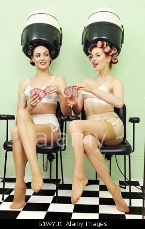 Transvestite playing cards