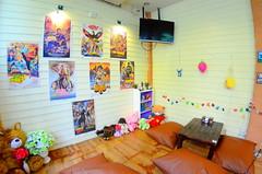 มุมเรโทร กับโปสเตอร์หนังไทยย้อนยุค ในร้านบ้านต้นไข่ ย่านประชาชื่น