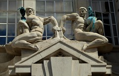 Scultpural Group by  Ernest Cole and Alfred Hardiman, County Hall (jacquemart) Tags: london nude southbank countyhall scultpuralgroup ernestcoleandalfredhardiman