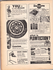 Magazine ad scans (Lawrence Peregrine-Trousers) Tags: hot beach car magazine accessories 1960s 1970s custom buggy mechanics accesory