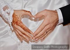 Bride and Groom love heart hands (Snappy Saffs) Tags: wedding cute manchester photography groom bride hands romance rings henna brideandgroom kurdish flickrandroidapp:filter=none