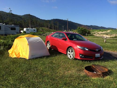 Erstes Mal Camping an der US-Westküste