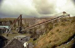 Merrivale Quarry, Devon (Tilt Cab Man) Tags: devon granite dartmoor quarry princetown quarries merrivale quarrying derrickcrane merrivalequarry