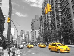 There are 13237 yellow cabs in New York City, this is 3 of them!