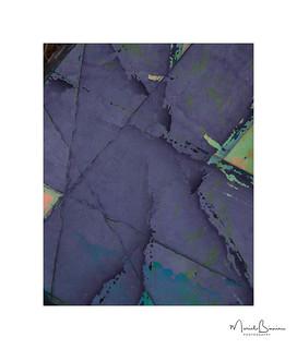 Purple Saltire