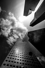 4 fingers... (AGP318) Tags: singapore singaporeriver cityscape skyscraper clouds sun