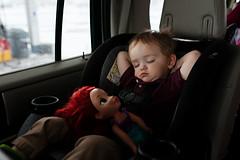 71/365 (beck-chan) Tags: car sleep nap trip 35mmlens boy child childhood