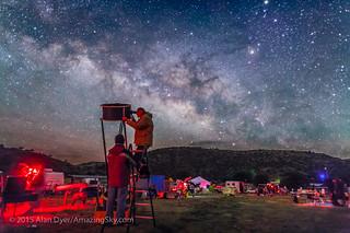 Deep Sky Observers Under the Milky Way