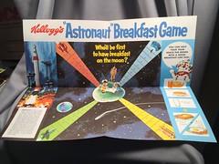 Kellogg's Astronaut Breakfast Game (toyfun4u) Tags: kelloggs cereal
