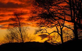 Machlud (Sunset) Machynlleth.
