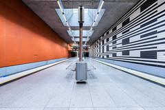Empty Places (*Capture the Moment*) Tags: 2015 architecture architektur farbdominanz fotowalk highkey häuserwohnungen innenarchitektur insightview interiordesign munich münchen seats sitze sonya7m2 sonya7mii sonya7mark2 sonya7ii sonyfe1635mmf4zaoss sonyilce7m2 stationoberwiesenfeld subway ubahn black schwarz silber silver weiss white