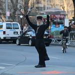 252/365/3174 (February 18, 2017) - Russian Orthodox Priest at Columbus Circle (New York City) - February 18, 2017 thumbnail