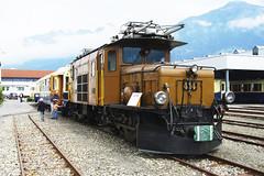 IMGP7786 (Alvier) Tags: schweiz graubünden rhb rhätischebahn landquart hauptwerkstätte tagderoffenentür triebfahrzeuge lokomotiven taufe triebzüge ge66i rhbkrokodil