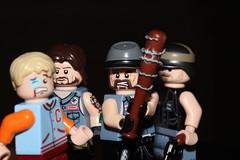 Squares (lego slayer) Tags: labor day baseball bat jock varsity angel hell biker lego legos vest