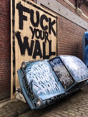 Fuck your Wall (OliveTruxi (1 Million views Thks!)) Tags: arturbain condition danysz generation jonone magda publique rbx roubaix streetart streetgeneration streetgenerations urbanart france
